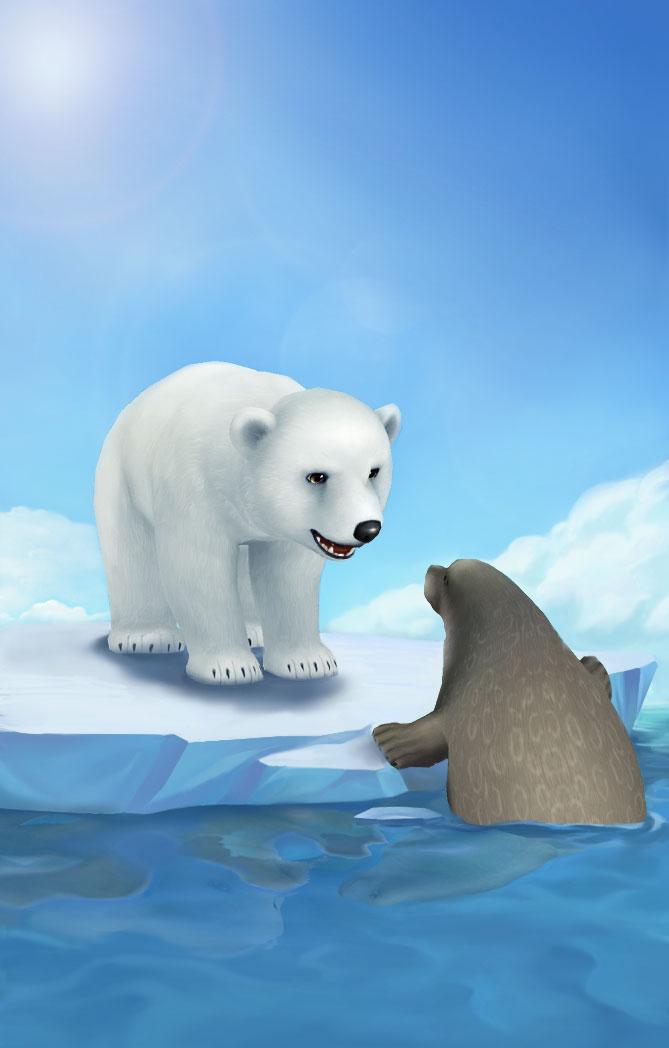 捕捉大海豹