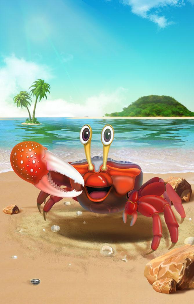 沙蟹洞的秘密